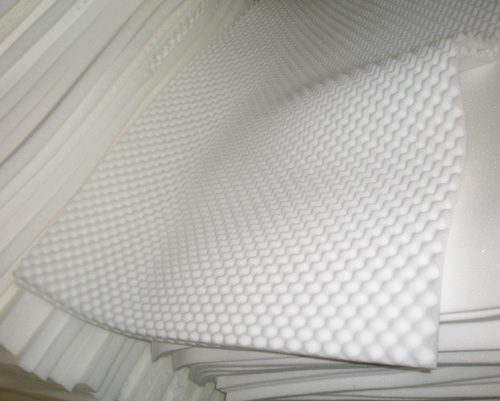 Wavy foam mattress topper TC-MT02
